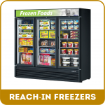 Reach-in Freezers